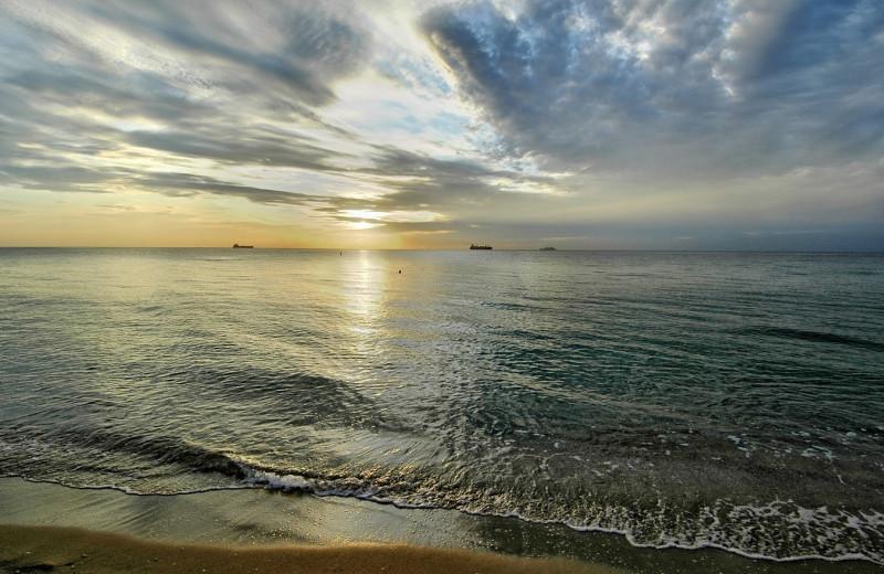 The beach at Bahia Mar Beach Resort & Yachting Center.