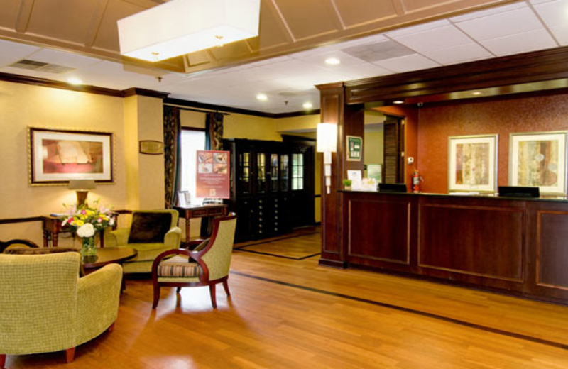 Lobby at Holiday Inn Leesburg