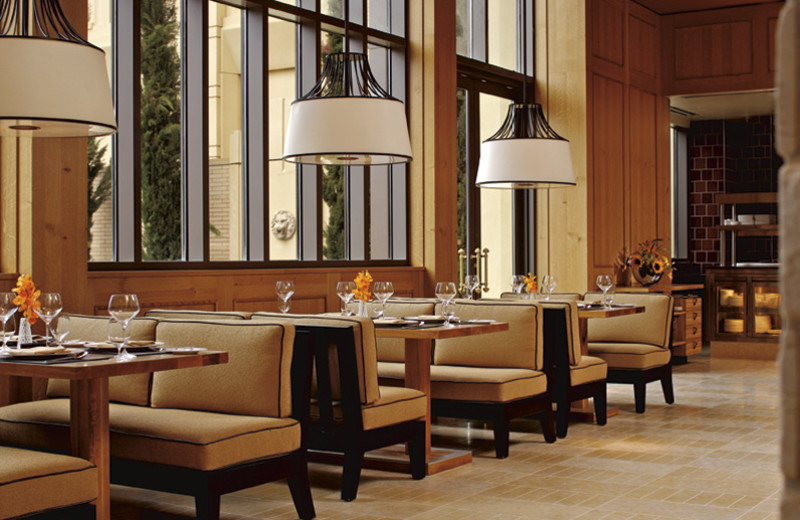Dining at The Ritz-Carlton, Dallas.