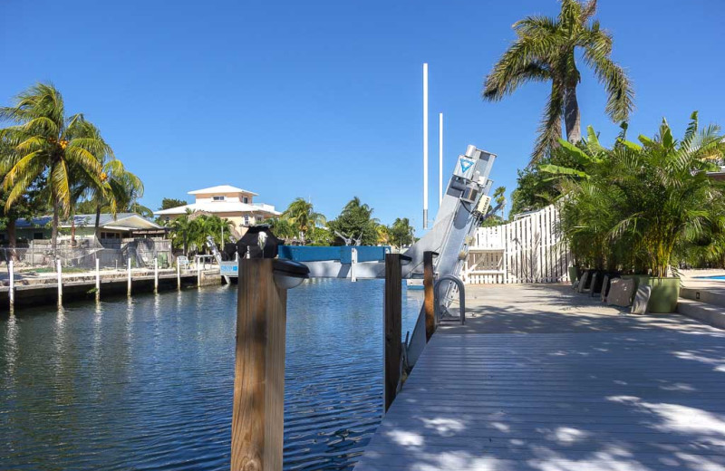 Rental fishing at Florida Keys Vacation Rentals.