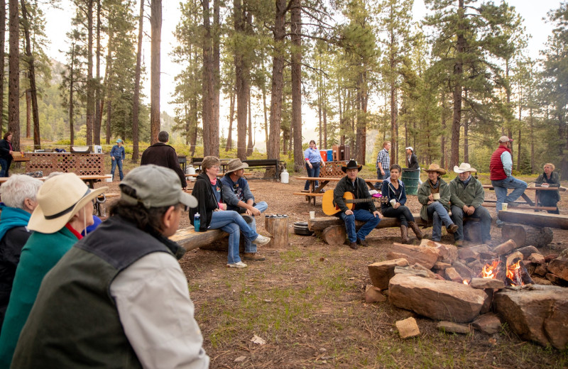 Groups at Colorado Trails Ranch.