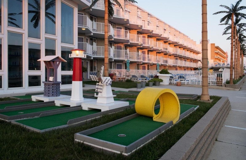 Mini golf at Shalimar Resort and Conference Center.