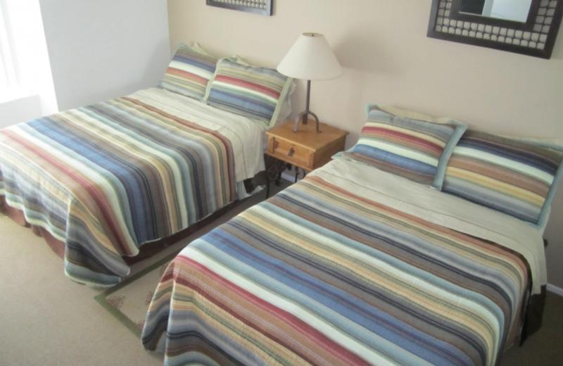 Rental bedroom at North Coast Village.