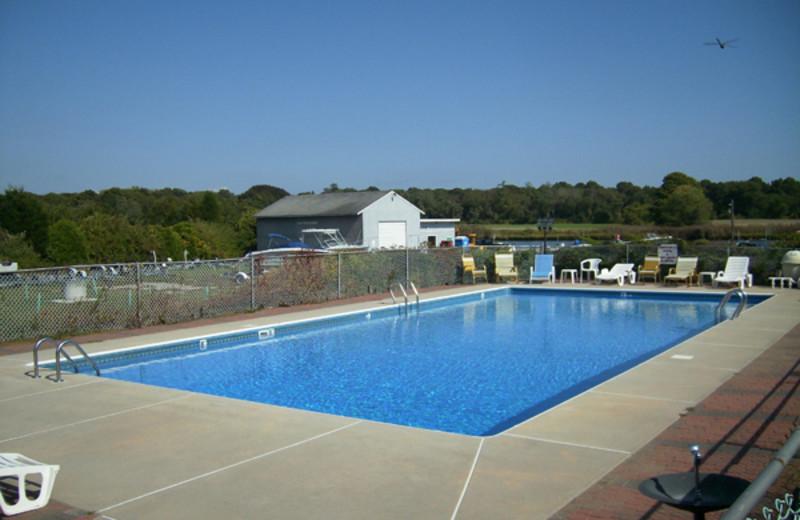Outdoor Pool at Cove Ledge Inn
