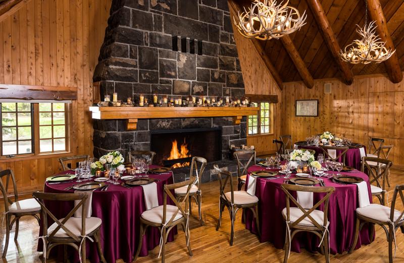 The Fireside Room at Sunriver Resort