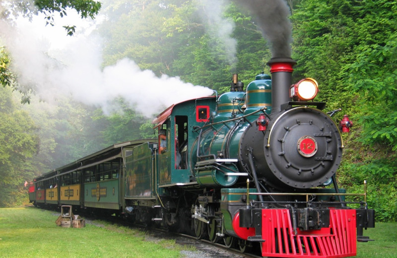 Train at Foscoe Rentals.