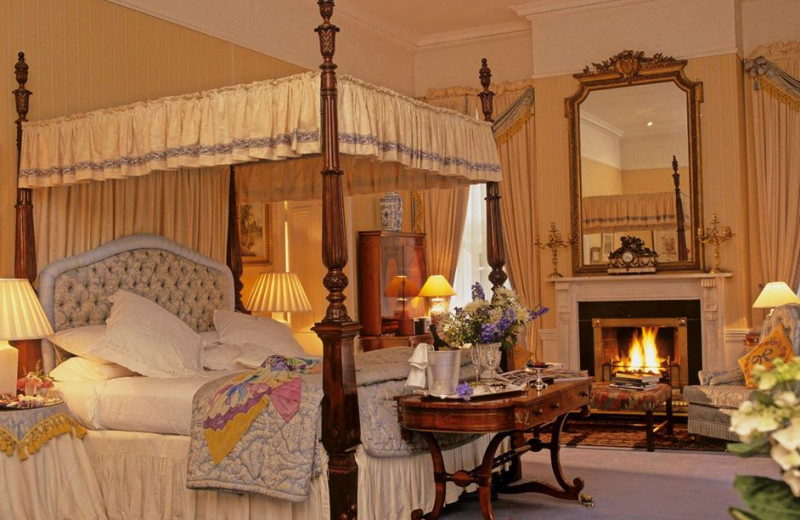 Guest room at Marlfield House.