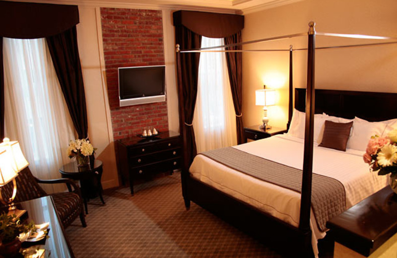 Guest suite at Courtyard Tacoma Downtown.
