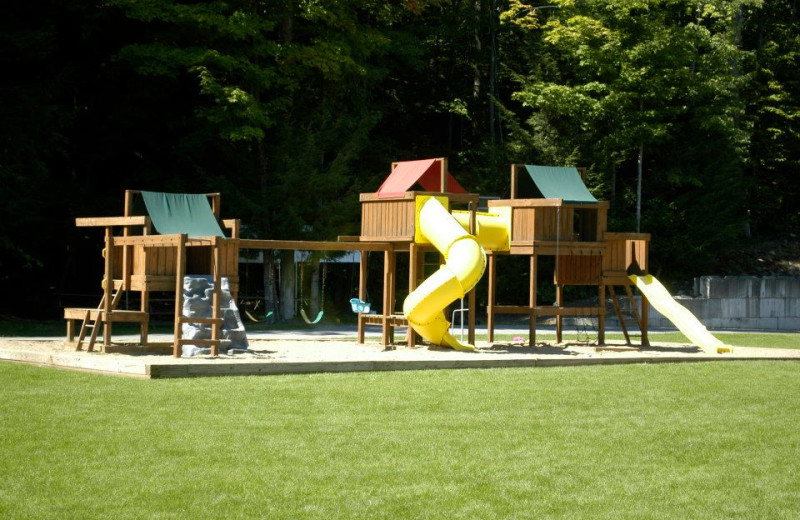 Playground at Country Cottages & Motel