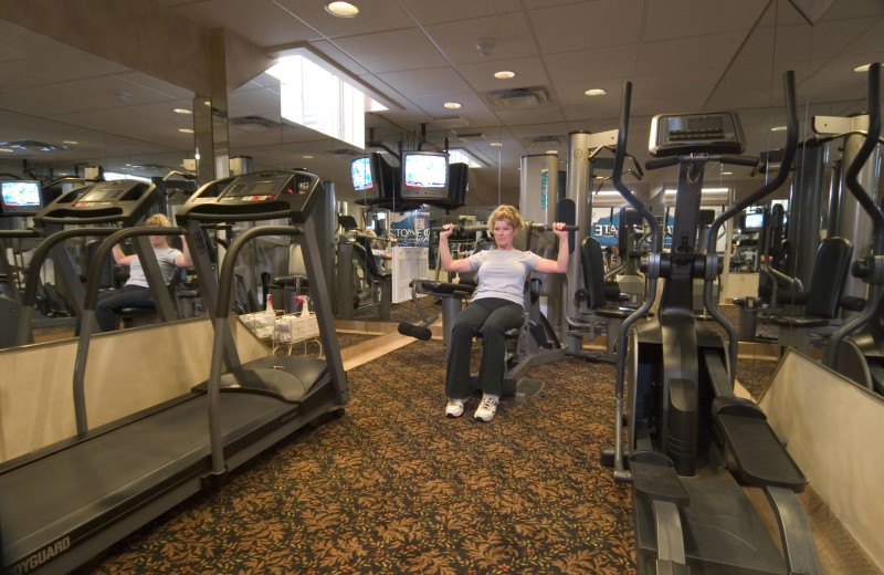 Fitness room at Stone Gate Inn.