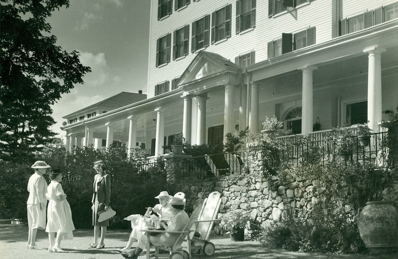 Historic photo of Mountain View Grand Resort & Spa.