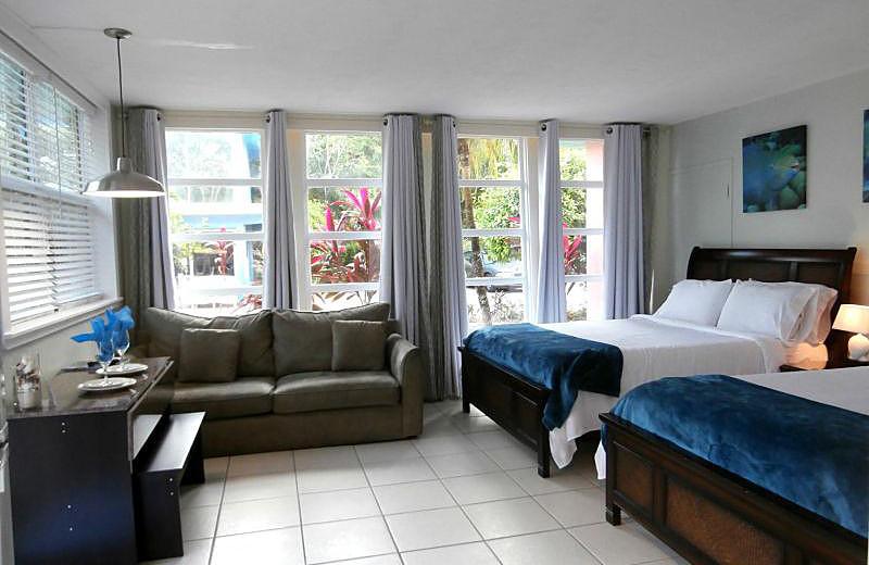 Guest room at La Jolla Resort Hotel.
