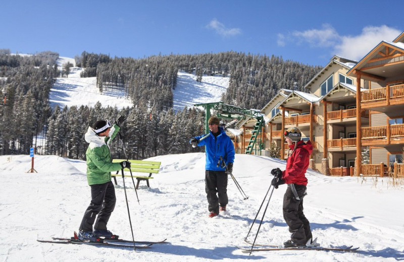 Skiing at Northstar Mountain Village Resort.