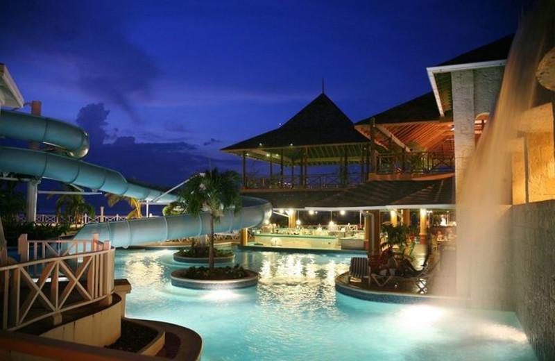 Outdoor pool at Sunset Jamaica Grande Resort.