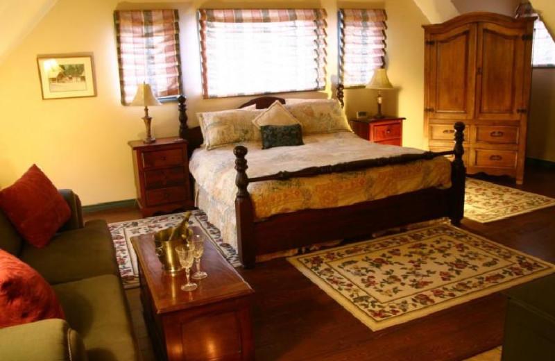 Ranch House Bed at Siwash Lake Ranch