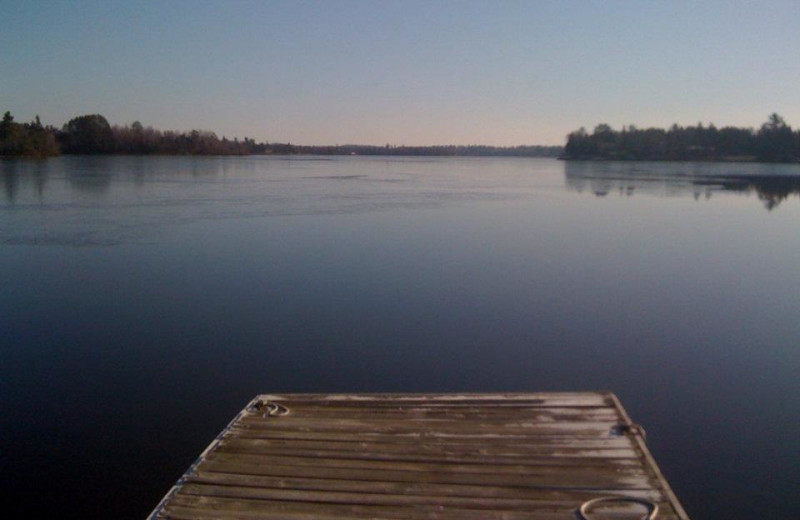 Lake view at Vermilion Houseboats.
