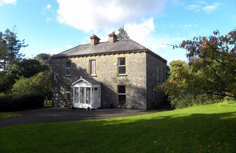 Exterior view of Old Parochial House.
