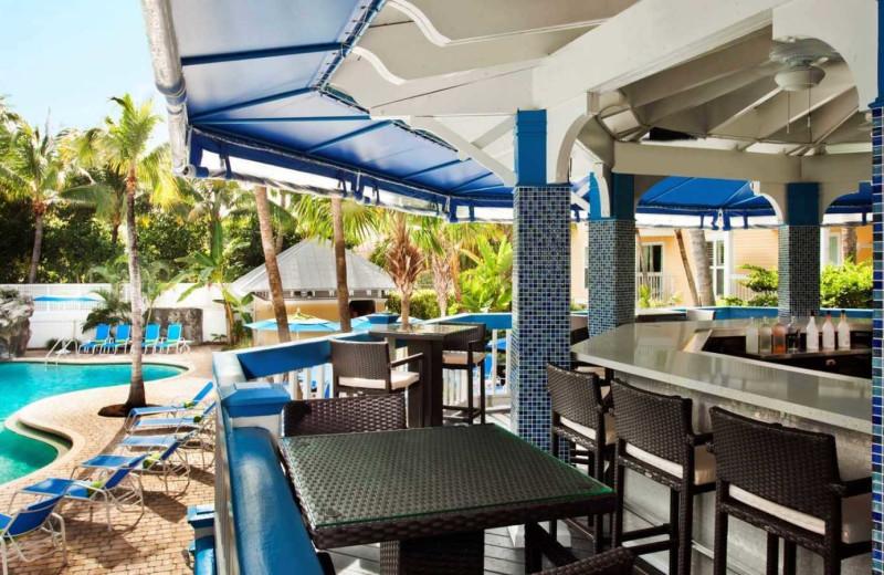 Pool bar at Sheraton Suites Key West.