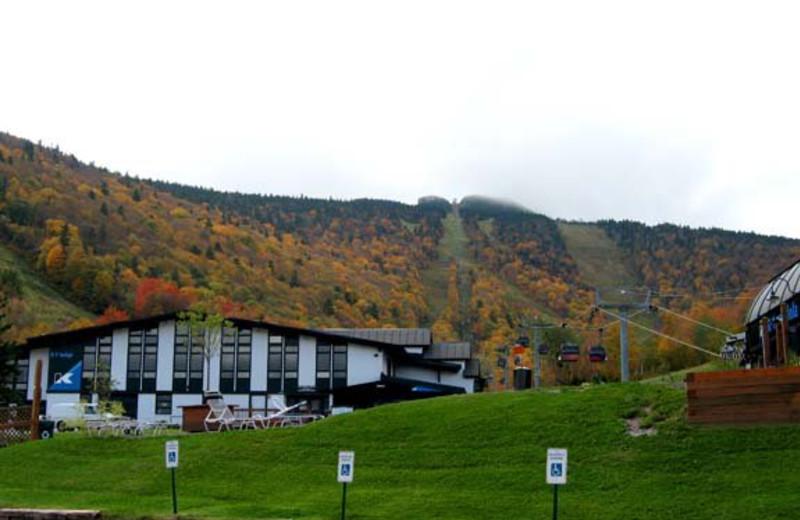 Exterior inn view at Birch Ridge Inn.