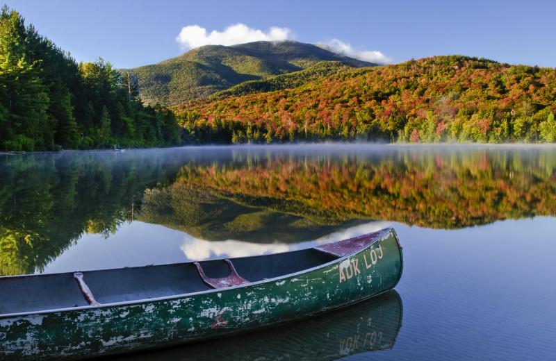 Stunning views of Lake Placid at Lake Placid Vacation Homes.