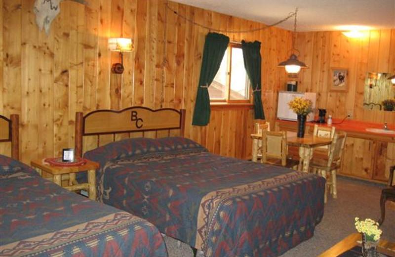 Cabin Interior at Bill Cody Ranch