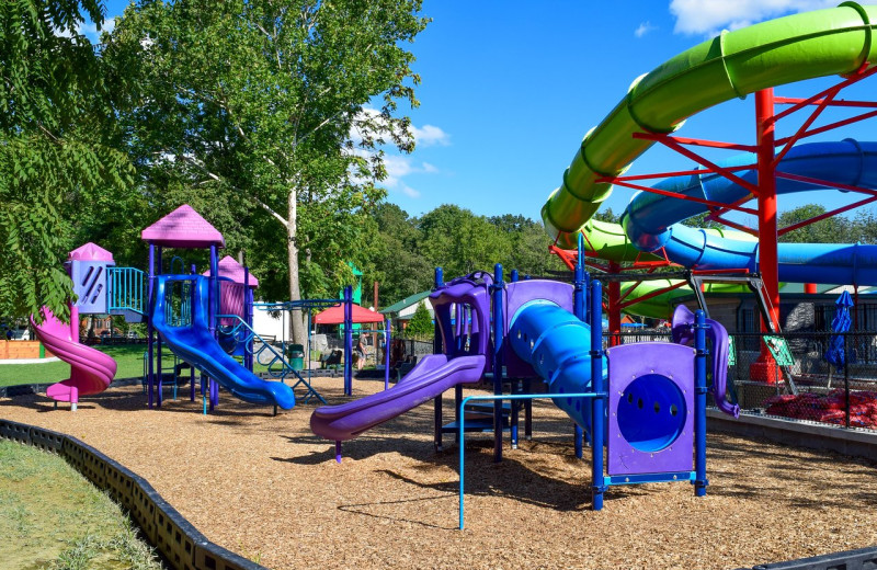 Playground at Yogi Bear's Jellystone Park Hagerstown.