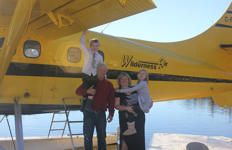 Family at Wilderness Air.