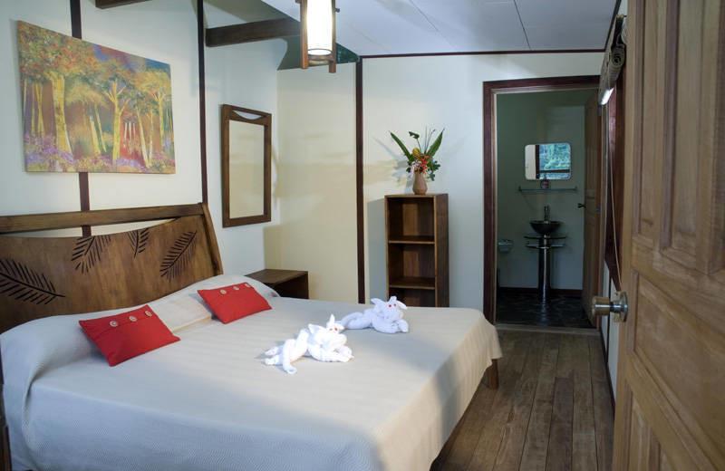 Guest room at Rios Tropicales.