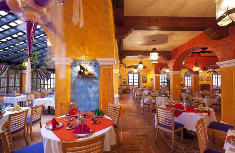 Dining at Krystal Cancun Hotel.