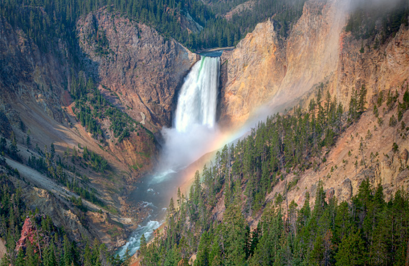 Waterfall near Sawtelle Mountain Resort.