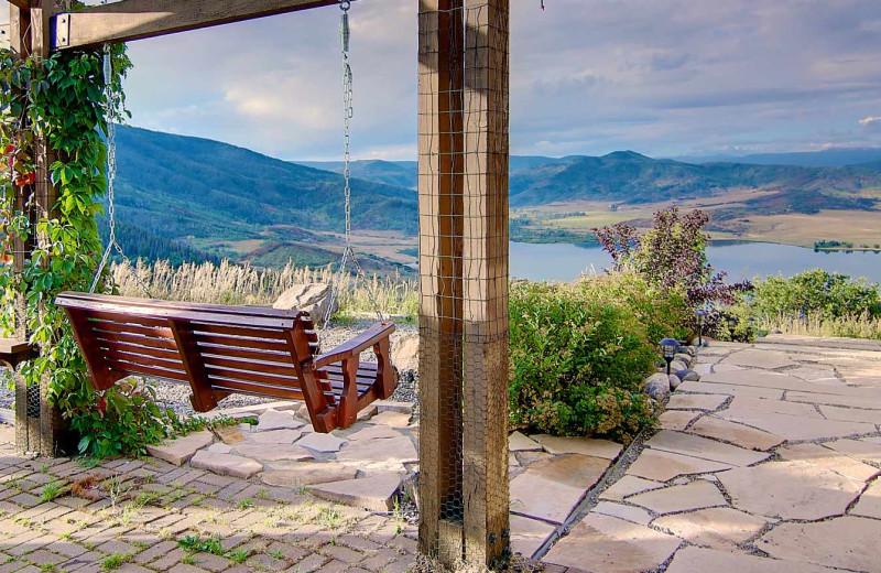 Patio at Bella Vista Estate.