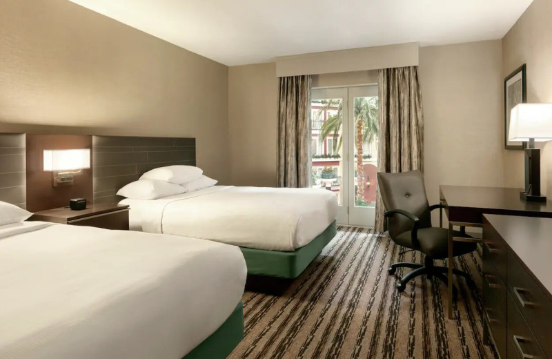 Guest room at DoubleTree Resort by Hilton Hotel Lancaster.