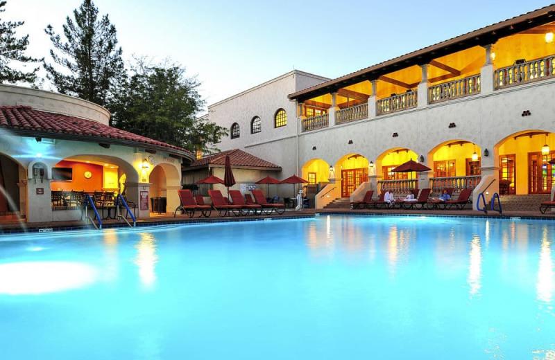 Outdoor pool at Los Abrigados Resort And Spa.