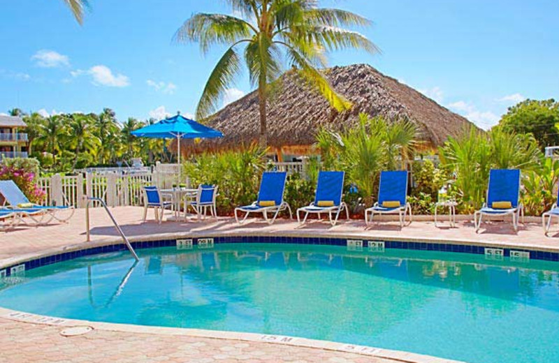 Outdoor pool at Courtyard Key Largo.