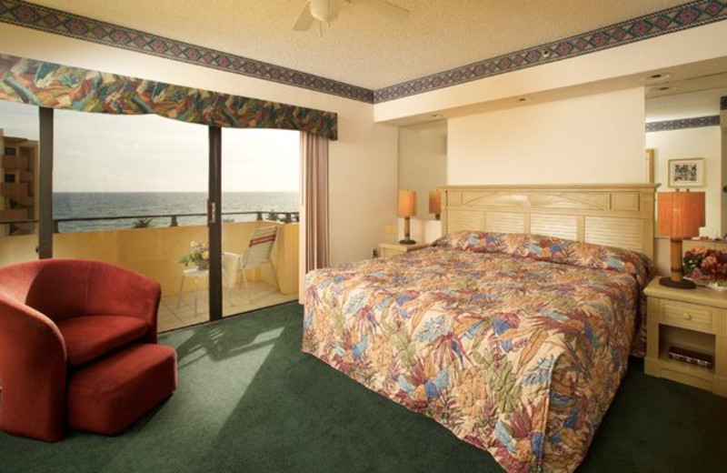 Guest room at Lighthouse Cove.