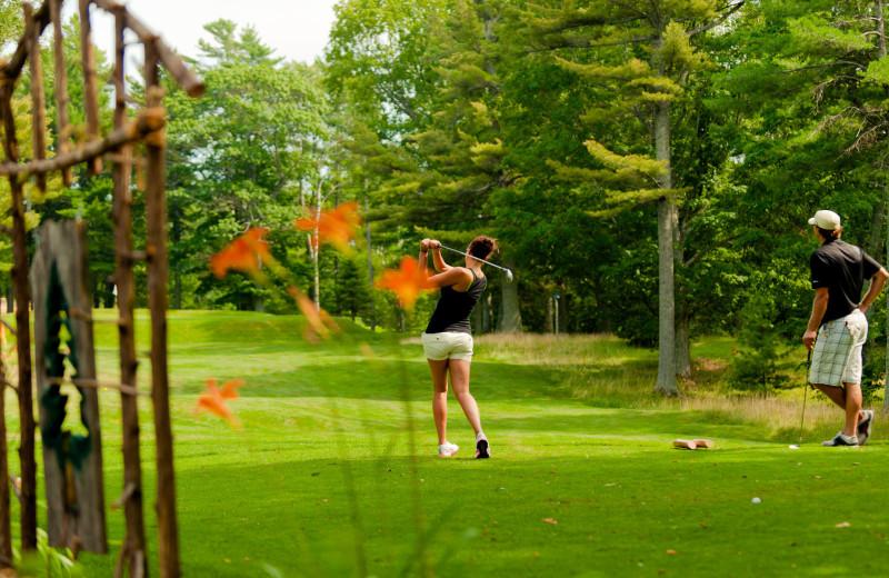 Golf at Keweenaw Mountain Lodge.