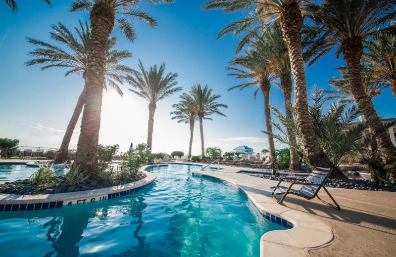 Rental pool at Gary Greene Vacation Rentals.