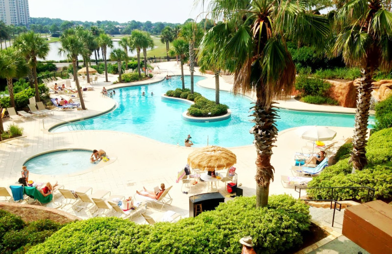 Outdoor pool at Sandestin Golf Resort.