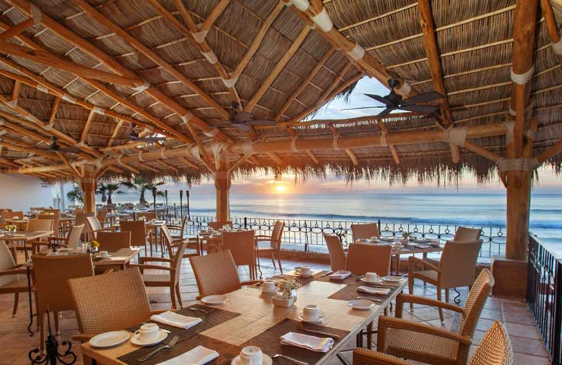 Dining at Cabo Surf Hotel & Spa.
