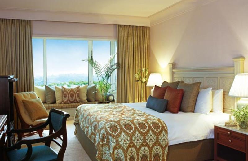 Guest suite at Taj Bengal.