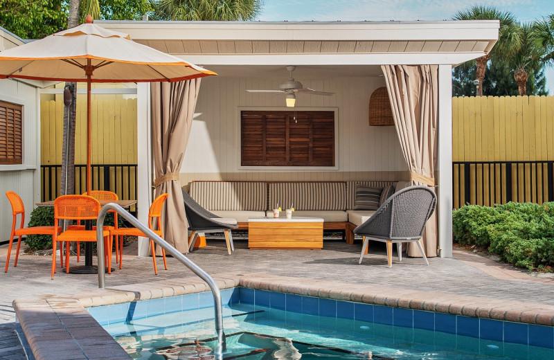 Cabana at Sirata Beach Resort.