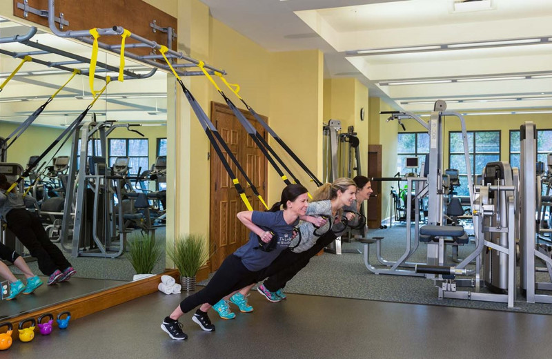 Fitness at The Lodge at Woodloch.
