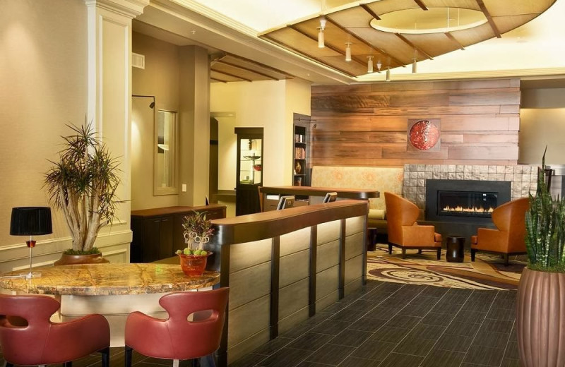 Lobby view at Hotel Abri.