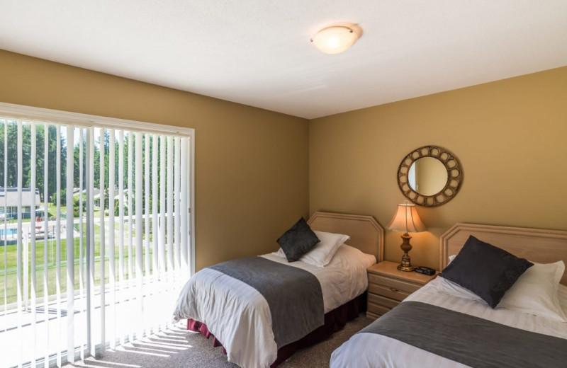 Guest room at Ocean Trails Resort.