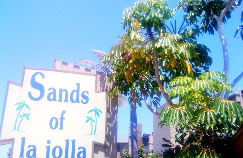 Welcome to Sands of La Jolla.