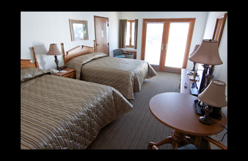 Guest room at Lakeview Hills Golf Resort.