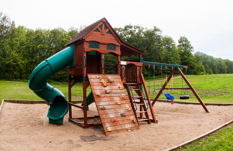 Playground at East Silent Lake Resort.