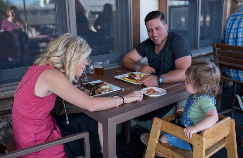 Family friendly dining at Generations Tap & Grill