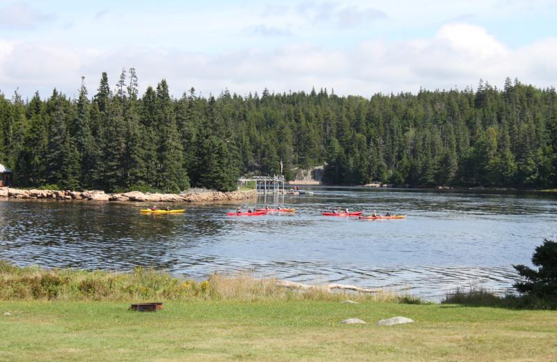 Lake near Vacationland Inn.