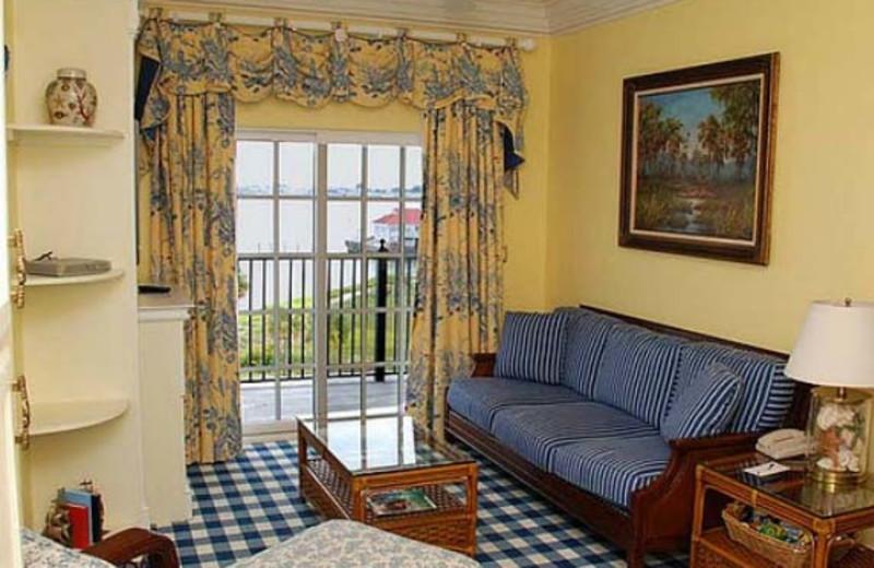 Suite Interior at  Charleston Harbor Resort